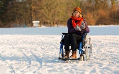 3 Winter Wheelchair Safety Tips