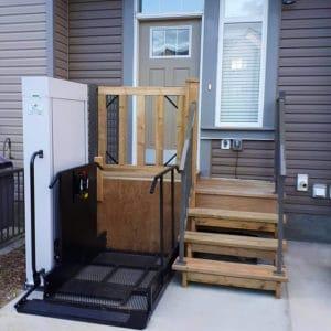 Vertical Platform Lifts – Porch Lifts