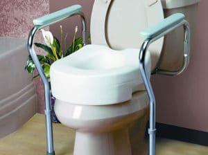 Adjustable Toilet Safety Frames