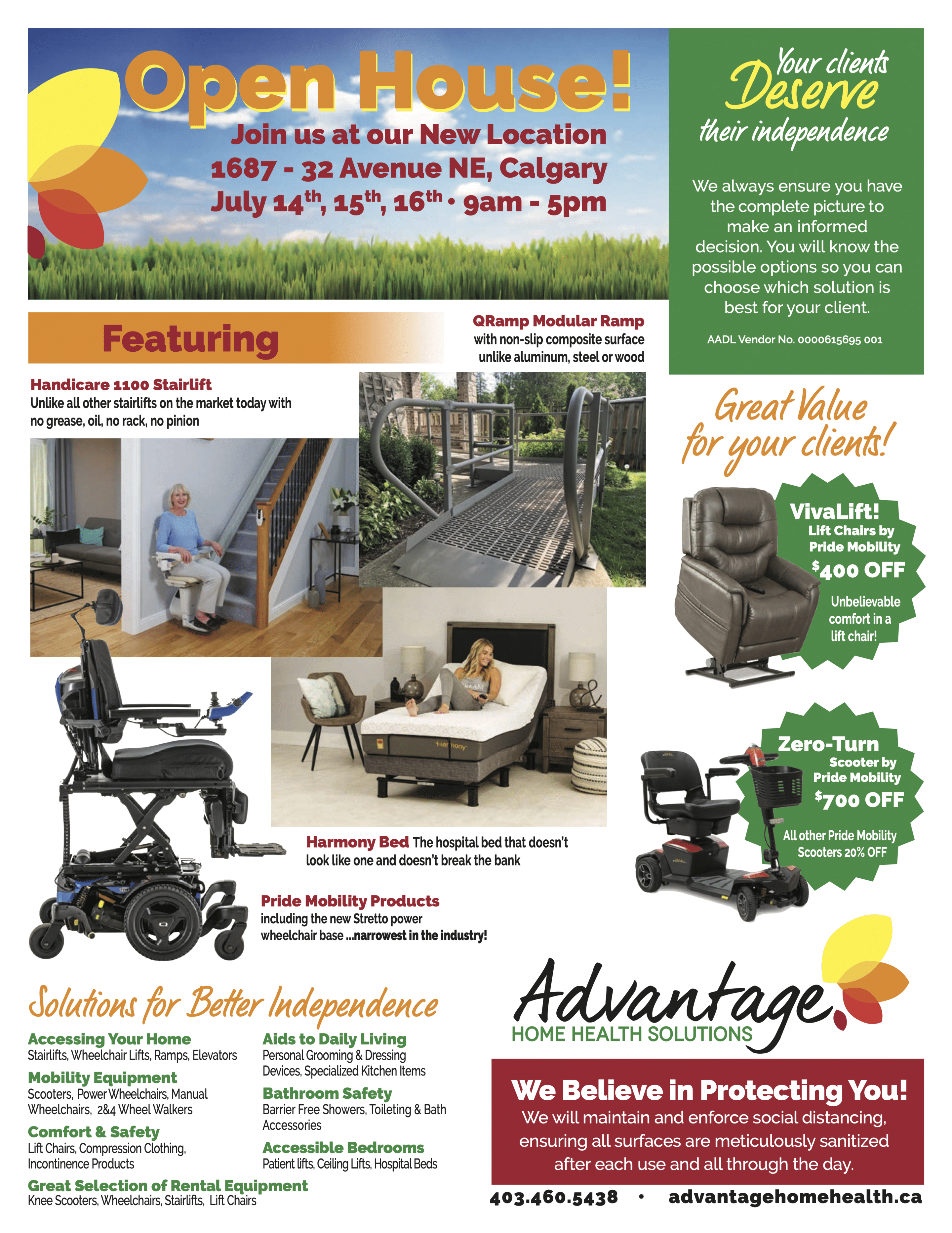 Advantage Home Health Solutions | Health Care Professionals Open House