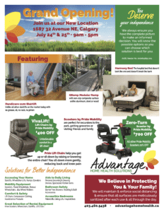 Advantage Home Health Solutions Grand Opening Event